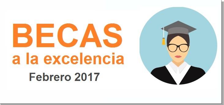 Beca a la excelencia 2017